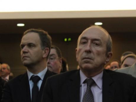 François-Noël Buffet et Gérard Collomb - LyonMag