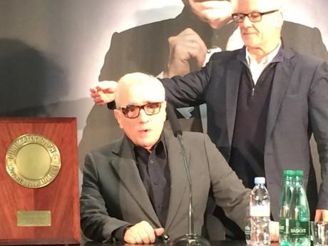 Martin Scorsese et Thierry Frémaux - LyonMag