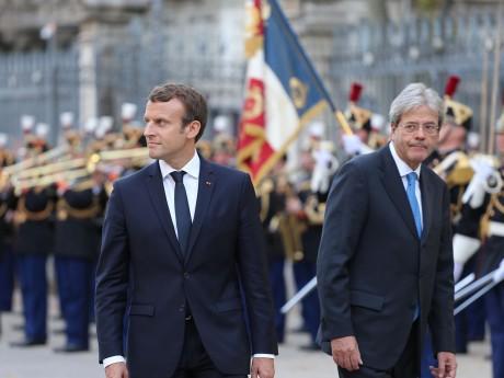 Emmanuel Macron et Paolo Gentiloni - LyonMag