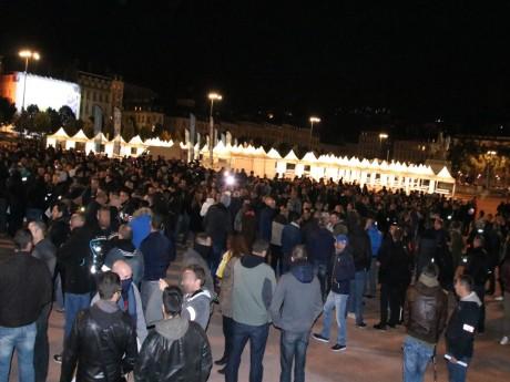 Les policiers ont manifesté place Bellecour - LyonMag