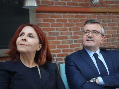 Djida Tazdaït et Yves Jégo - LyonMag