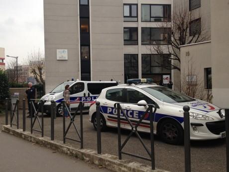 L'interpellation s'est produite dans ce bâtiment du 15 rue du Dauphiné - LyonMag
