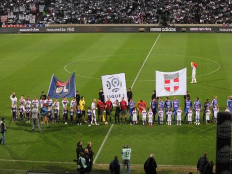 L'OL et l'ETG se sont quittés sur un match nul (1-1) - Photo Lyonmag.com