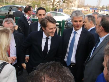 François Baroin à Pierre-Bénite avec Laurent Wauquiez ce mardi - LyonMag