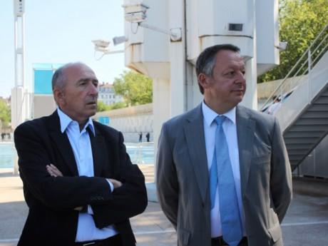 Gérard Collomb et Thierry Braillard - LyonMag