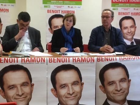 Jules Joassard, Annie Guillemot et Pierre Hémon ce mercredi matin - LyonMag