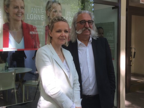 Anne Lorne et Patrick Carlioz - LyonMag