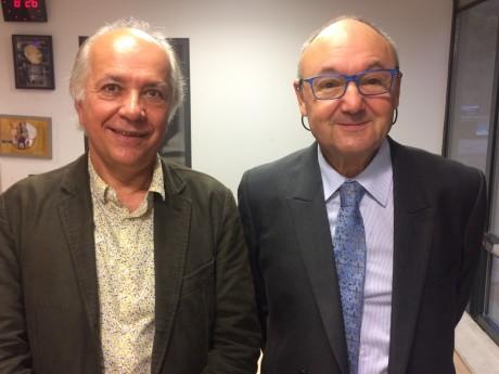 Pascal Le Merrer et Gérard Angel - LyonMag