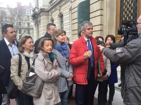 Laurent Wauquiez à la préfecture ce lundi - LyonMag