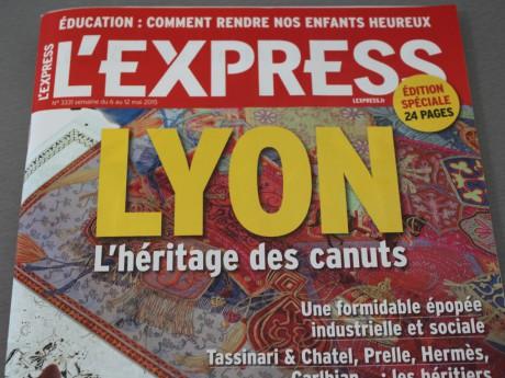La Une de l'Express de cette semaine - LyonMag