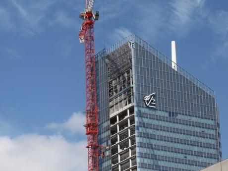 La tour Incity doit être inaugurée avant la fin de l'année 2015 - LyonMag