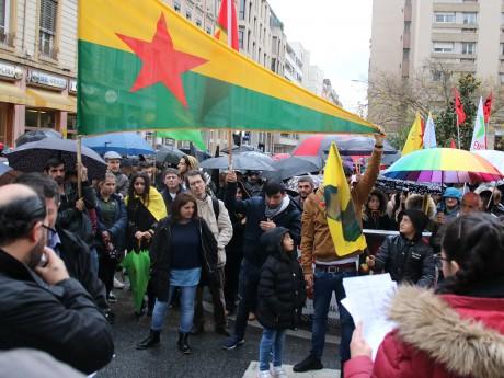 Manifestants Kurdes - LyonMag