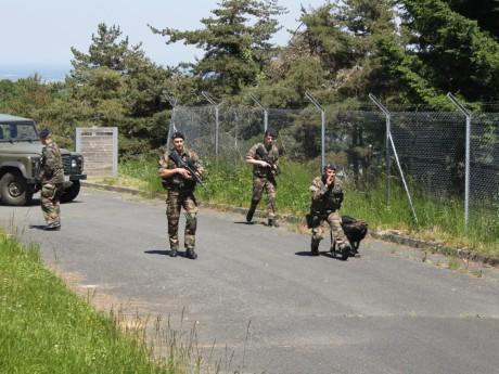 Les militaires lors d'un exercice au Mont-Verdun - LyonMag