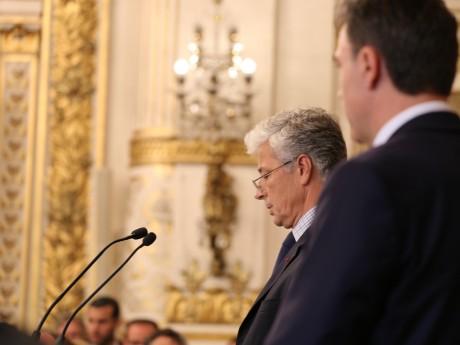 Le préfet Henri-Michel Comet et son secrétaire général Xavier Inglebert - LyonMag