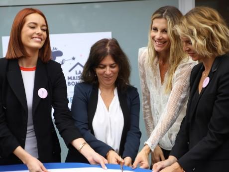 Maëva Coucke, Sophie Beaupère (Centre Lyon Bérard), Sophie Thalmann et Sylvie Tellier - LyonMag