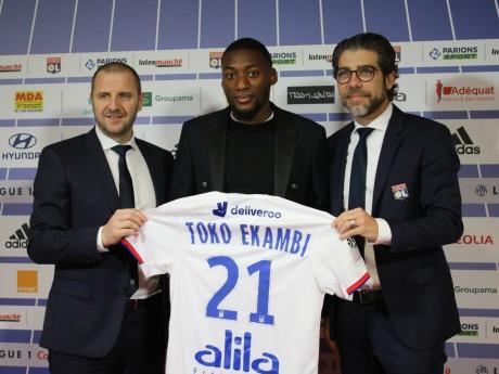 Florian Maurice, Toko-Ekambi et Juninho - LyonMag