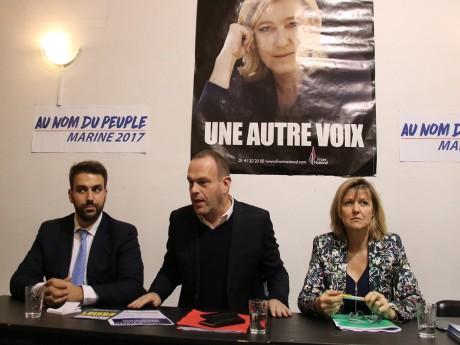 Antoine Mellies, Steeve Briois et Muriel Coativy - LyonMag