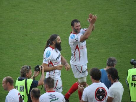 Lionel Nallet et Seb Chabal ont fait leur adieu au rugby à Gerland - LyonMag.com
