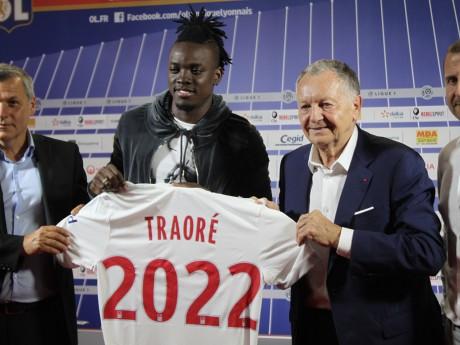 Bertrand Traoré s'est engagé pour 5 ans à l'OL - LyonMag