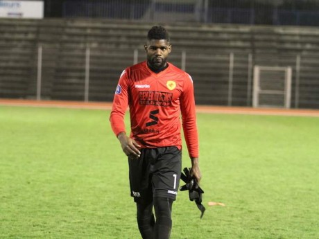 Le gardien de Lyon-Duchère, Jean N'Djalkonog - Photo : duchere.footeo.com