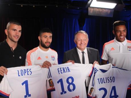 Lopes, Fekir, Aulas et Tolisso - LyonMag