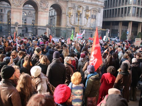 La Women's March de Lyon - LyonMag