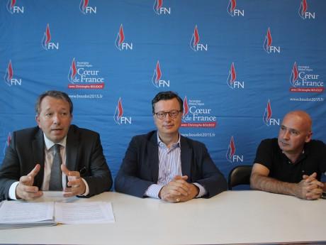 Christophe Boudot, Edouard Ferrand et Jean-François Bathelier - LyonMag