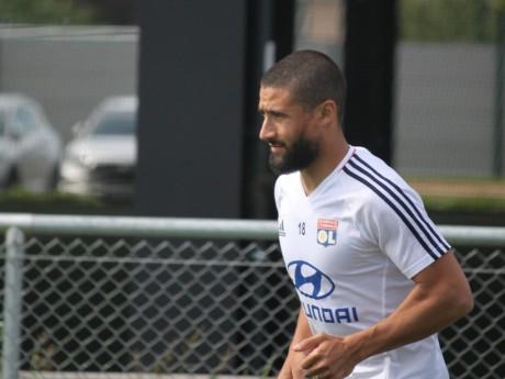 Nabil Fekir ce jeudi à l'entraînement - LyonMag