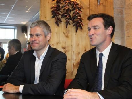Laurent Wauquiez et Michel Havard - LyonMag