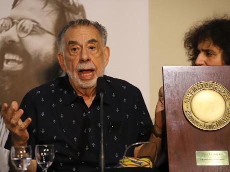 Francis Ford Coppola et son Prix Lumière - LyonMag