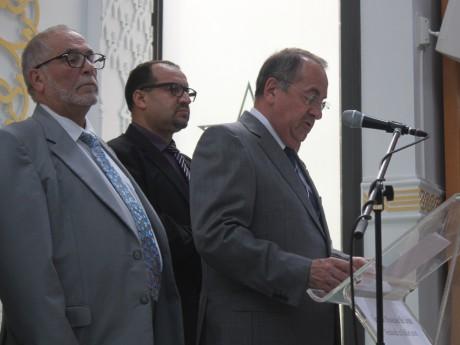 Kamel Kabtane, Michel Delpuech et Benaïssa Chana - LyonMag