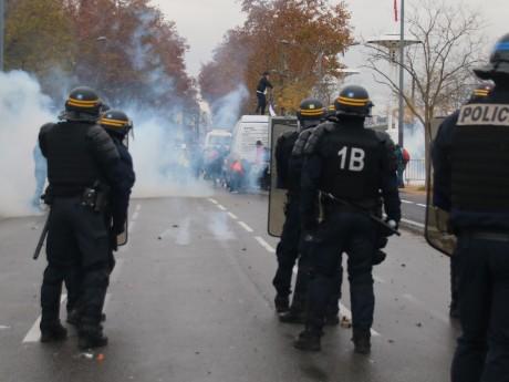 Les affrontements de samedi côté Guillotière - LyonMag
