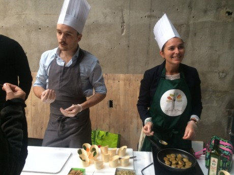 Fruits de Terre, une cuisine à base d'insectes sera proposée à La Commune - DR