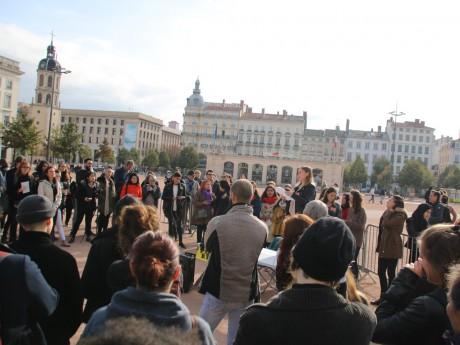 Une précédente manifestation de MeToo à Lyon - LyonMag