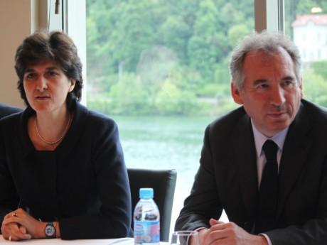 Sylvie Goulard et François Bayrou - LyonMag