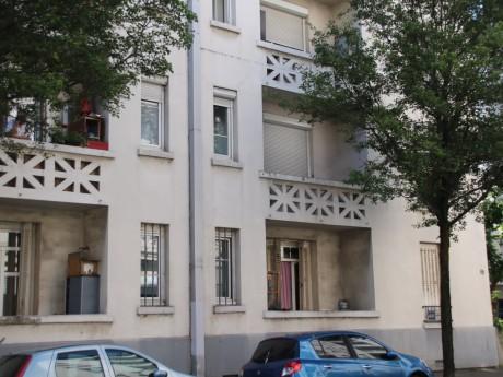 C'est dans cet immeuble que le RAID est intervenu ce vendredi matin dès 9h - LyonMag