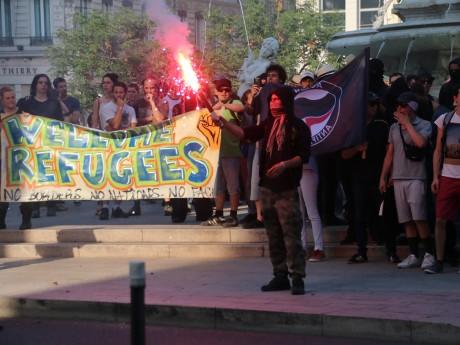 La manifestation place des Jacobins - LyonMag