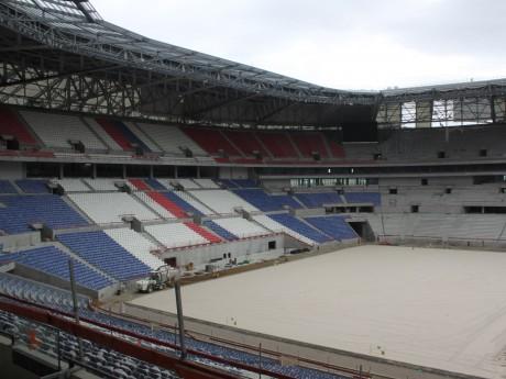 Le Grand Stade bientôt terminé - LyonMag