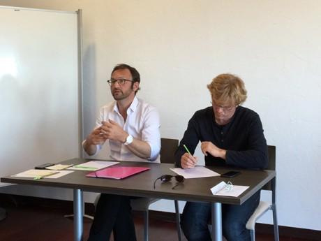 Patrick Mignola et Marc Fesneau - DR
