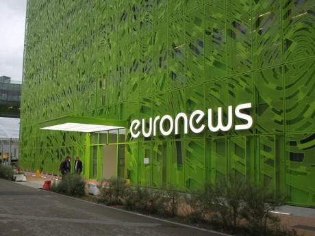 Le siège d'Euronews à la Confluence - LyonMag