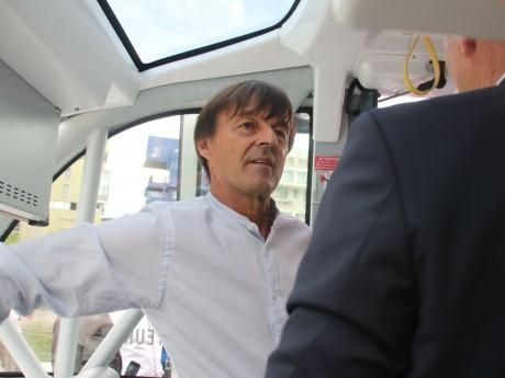Nicolas Hulot dans la Navly - LyonMag