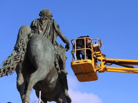 Les analyses de la statue sont en cours -LyonMag