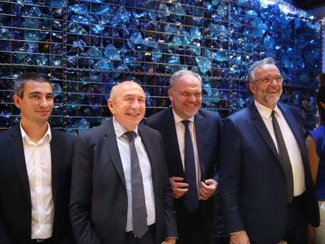 L'alliance entre Yann Cucherat, Gérard Collomb, François-Noël Buffet et Etienne Blanc - LyonMag