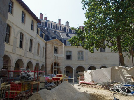Le chantier du Grand Hôtel-Dieu