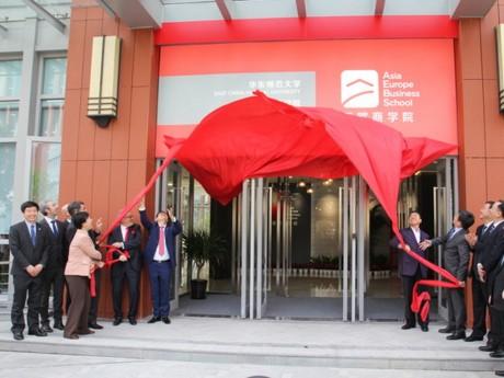 Inauguration du campus à Shanghai - DR