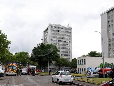 L'incendie s'est déclaré dans un immeuble de Givors - DR SDMIS