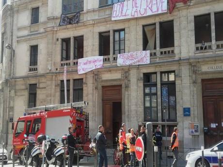 Collège Truffaut mercredi matin - LyonMag