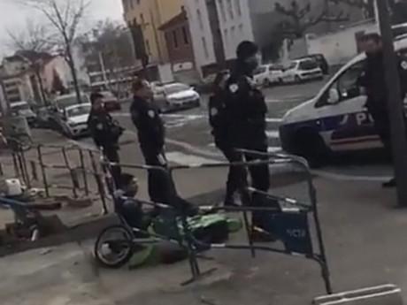 Le jeune chauffard interpellé par les policiers ce dimanche - DR