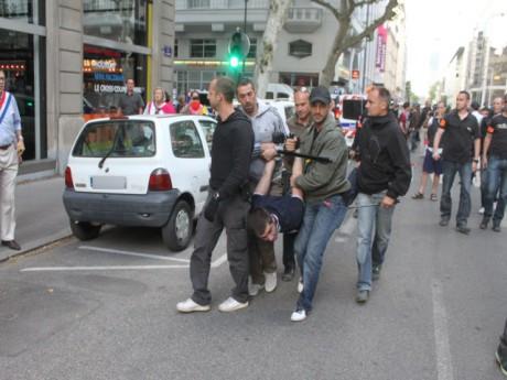 L'interpellation de Quentin le 23 juin dernier - LyonMag