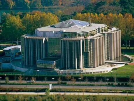 Le siège d'Interpol à Lyon - DR